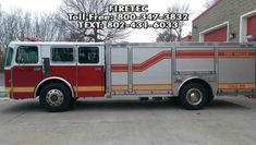 Used rescue trucks for sale - direct from the department. 1992 Saulsbury refurbished in Call or text the Fire Truck Ladies for more info - text. Fire Trucks For Sale, Emergency Vehicles, Recreational Vehicles, Phone, Telephone, Camper, Mobile Phones, Campers, Single Wide