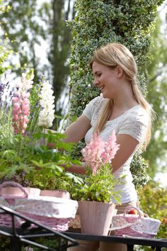 """Finding ~ ❀Me Time❀ - """"I like gardening -- it's a place where I find myself when I need to lose myself."""""""