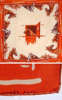 Hermes Scarf Tying