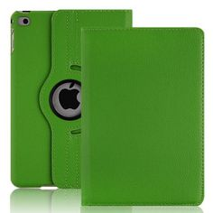 PU Leather Case for iPad 2 iPad 3 iPad 4 Smart Stand Flip Case Cover 360 Rotating Screen Protector (1)