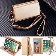 Musubo Original Cases Cover For Apple iPhone 7 Plus Luxury leather wallet case for iPhone 6 Plus 6s plus 7plus case phone bag 6p