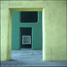 jada111:  Le Corbusier : Inside a Chandigarh Building, Le Corbusier Green Range of Color | Sumally (サマリー)