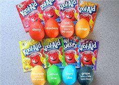 craft ideas for the kids koolaid egg dye