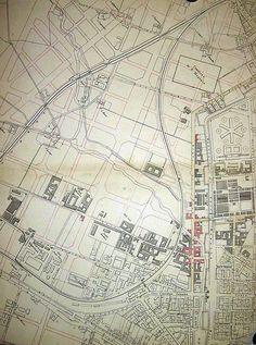 Zona Porta Genova intorno al 1899. Navigli. Scoprite la storia di Milano con le nostre visite guidate: http://milanoarte.net/it/visite-guidate-a-milano/tour-dei-navigli