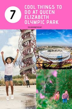 There's more to Stratford than the shopping centre so we've put together a family-friendly guide on the best things to do at the Olympic Park. London Aquatics Centre, London Wetland Centre, Days Out With Kids, Family Days Out, Travel With Kids, Family Travel, Riverside Cafe, Diana Memorial, Trampoline Park
