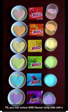 Make your own flavored icing:   Royal Icing plus Jell-O...          1 TBS milk      5 TBS confectioners sugar (add more if you need to thicken the glaze)      1 tsp corn syrup      1 1/2 tsp powdered Jello mix (add more to achieve desired flavor and color)    This glaze covers 4-5 cookies.