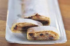 Tažený jablečný štrúdl French Toast, Baking, Breakfast, Recipes, Food, Drink, Morning Coffee, Beverage, Bakken