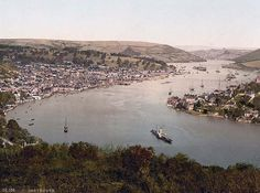 A view of Dartmouth from times past. www.bythedart.tv