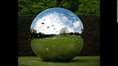 """Swiss artist Not Vital is currently showcasing his first major UK solo exhibition. The installation includes works such as the above """"Moon"""" at Yorkshire Sculpture Park."""