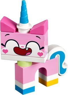 An Unikitty! set released in Legos, Lego Dog, Castle Rooms, Lego Clones, Bloom Winx Club, New March, Lego Movie, Lego Sets, Birthday Parties