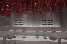 Kitchen bar restaurant plan and design Restaurant Plan, Interior Design And Construction, Cyprus, Conference Room, Bar, How To Plan, Kitchen, Table, Furniture