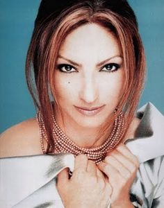 GLORIA ESTEFAN ⇨ Follow City Girl at link https://www.pinterest.com/citygirlpideas/ for great pins and recipes!  ☕