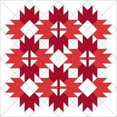 Happy Canada Day ( July In honor of the day, here are some free Canadian maple leaf quilt and table runner patterns! Flag Quilt, Patriotic Quilts, Quilt Blocks, Canadian Quilts, Canadian Flags, Quilts Canada, Barn Quilt Patterns, Quilting Patterns, Two Color Quilts