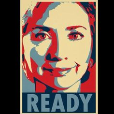 Shop Hillary Clinton - Empress: OHP Poster created by obama_poster_hope.