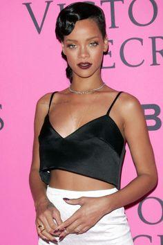 Rihanna's beauty evolution in her 50 best looks.