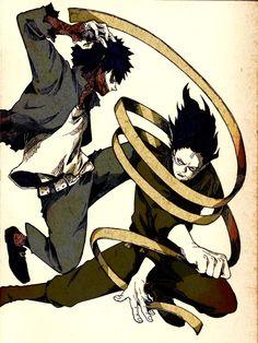 Boku no Hero Academia || Dabi || Aizawa Shouta