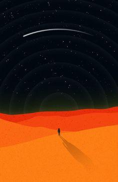 The Martian (2015) ~ Minimal Movie Poster by Sergio Camalich #amusementphile