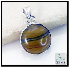 Multi Flourite silver Pendant Riyo Gems www.riyogems.com