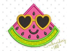 Watermelon Applique DE043