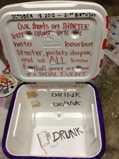 Welcome to Clemson.  Drink.  Drank.  Drunk.