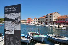 Muito prazer, Croácia - Stari Grad, cidade da ilha de Hvar, Croácia
