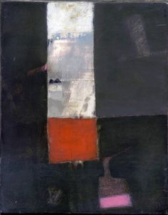 Untitled (oil and mixed media on canvas) Roger Cecil Abstract Painters, Abstract Art, May Arts, Royal College Of Art, Grey Skies, Color Shapes, Landscape Paintings, Landscapes, Mixed Media Canvas