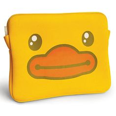 B.Duck Yellow Notebook Case ZZ