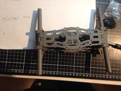 TDR_250_V9_5 Mockup/prototype assembley, and continues developing draw in RHINO 3d CAD ...!