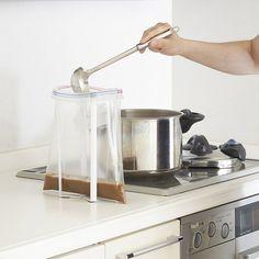 Foldable Kitchen Bag Holder