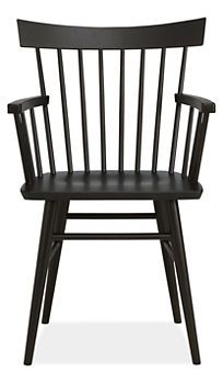 Thatcher Arm Chair in Maple with Ebony Stain ($249.00) - Svpply