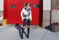 http://www.shallwesasa.com/2015/10/fall-essentials-fringe-sweater-and-blanket-scarf.html