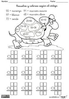 01 sumas 2 sumandos y 2 dígitos 001 - Actiludis