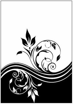 Couture Creations - 5x7 Embossing Folder - Romantique Breeze