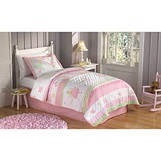 @Overstock.com - Fairy Ballerina Applique 3-piece Quilt Set - These Fairy Ballerina quilts are a collection of applique patches for a whimsical kids quilt.  Each piece is cotton filled and prewashed for a classic soft texture, heirloom quality.  http://www.overstock.com/Bedding-Bath/Fairy-Ballerina-Applique-3-piece-Quilt-Set/6774142/product.html?CID=214117 $87.99