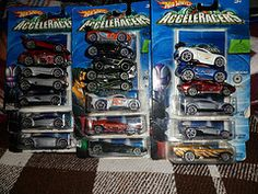 All my Personal Collection of Acceleracers