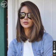 Perfect ✨ #longbob #longbobhair #hair #cabeloscastanhos