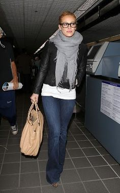 Hilary Duff, cute airport outfit