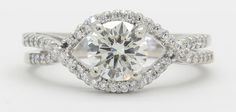 Gorgeous 1.15 CTW Certified Diamond Engagement Ring | I Do Now I Don't