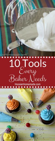 10 Tools Every Baker
