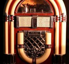 """Unajukebox, también conocida en castellano como """"Fonola"""", es un dispositivo parcialmente automatizado que reproduce música. Usualmente se compone de una máquina que se opera introduciendomonedasy que permite seleccionar canciones para posteriormente reproducirlas.La selección de los temas se lleva a cabo a través de una botonera que, mediante una combinación, permite indicar una canción específica entre una lista dediscos."""