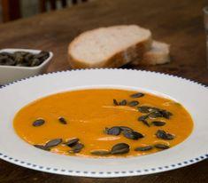 Kürbissuppe mit Möhren