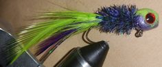 Grape Limeade Premium Handtied Crappie Jig by Pepop. win handtied jigs in the member contest at crappieforum.com Crappie Lures, Crappie Jigs, Crappie Fishing, Fishing Hole, Lord, Patterns, Fishing, Block Prints, Pattern