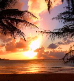 Puerto Rican Sunset. Who likes a beautiful sunset?