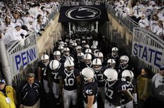 Penn State Football Baby!!! We can't wait for September. WE ARE......