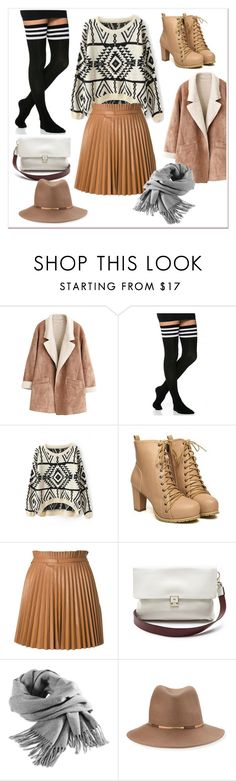 """""""my winter look"""" by nordicstyle ❤ liked on Polyvore featuring WithChic, RED Valentino, Anya Hindmarch, Filippa K and Eugenia Kim"""