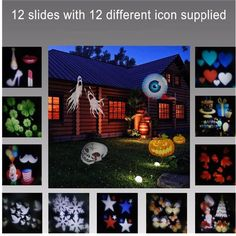 Romantic Rotating Night Light Projector Children Kids Baby Sleep Light Sky Star Lamp LED. Romantic Rotating Night Light Projector Children Kids Baby Sleep Light Sky Star Lamp LED Projection 12 Pattern Atmosphere Lamp 2017 Waterproof Christmas Snowflake Projector 12 Cards Changable LED Party Light Stage Lighting for Kids Birthday Halloween Xmas Gifts   This projector comes with 12 different patterns. Every lens has different images as heart shapes, snowflakes, clovers, high heels, pigeons…