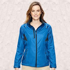 Ash City-North End-Sustain Ladies Lightweight Recycled Polyester Dobby Jackets With