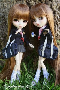 https://flic.kr/p/6pwDyP | Nanami & Mi-u (Pullips Custom) | Yay! Finally you can see Nanami and Mi-u together ^__^ These twins are really cute! But...who is who? ;P