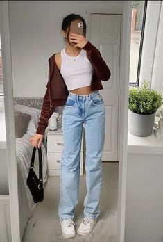 its-amood Indie Outfits, Teen Fashion Outfits, Retro Outfits, Cute Casual Outfits, Stylish Outfits, Vintage Outfits, Summer Outfits, Girly Outfits, Simple Outfits