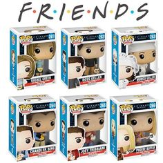 Hello, and welcome to Pop Vinyl List, the ideal community forum for Funko Pop fans. We are a brand new website created to offer a space where fans can share their love for Funko Pop toy seri… Disney Pixar, Disney Pop, Serie Friends, Friends Show, Funko Pop Figures, Pop Vinyl Figures, Chandler Bing, Drama Total, Friends Merchandise